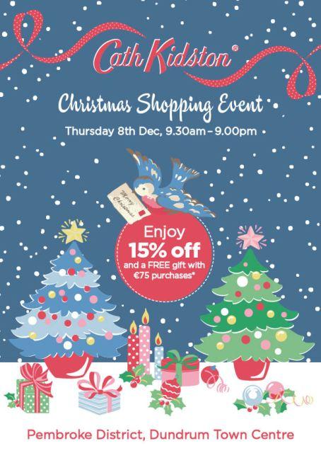 Cath Kidston Christmas Shopping Event