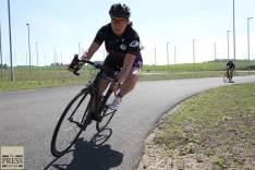 racing a criterium