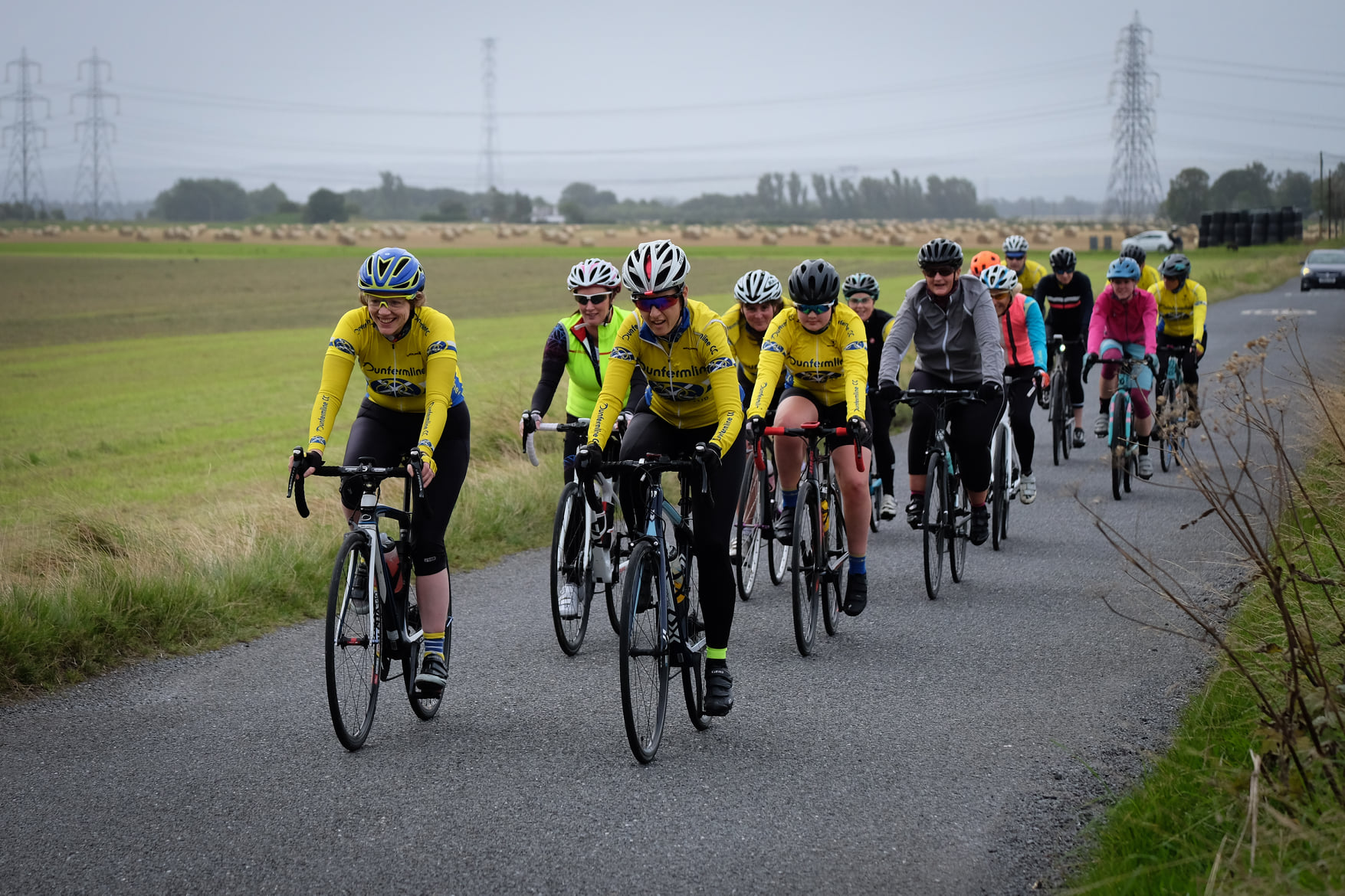 Dunfermline Cycling Club ladies ride
