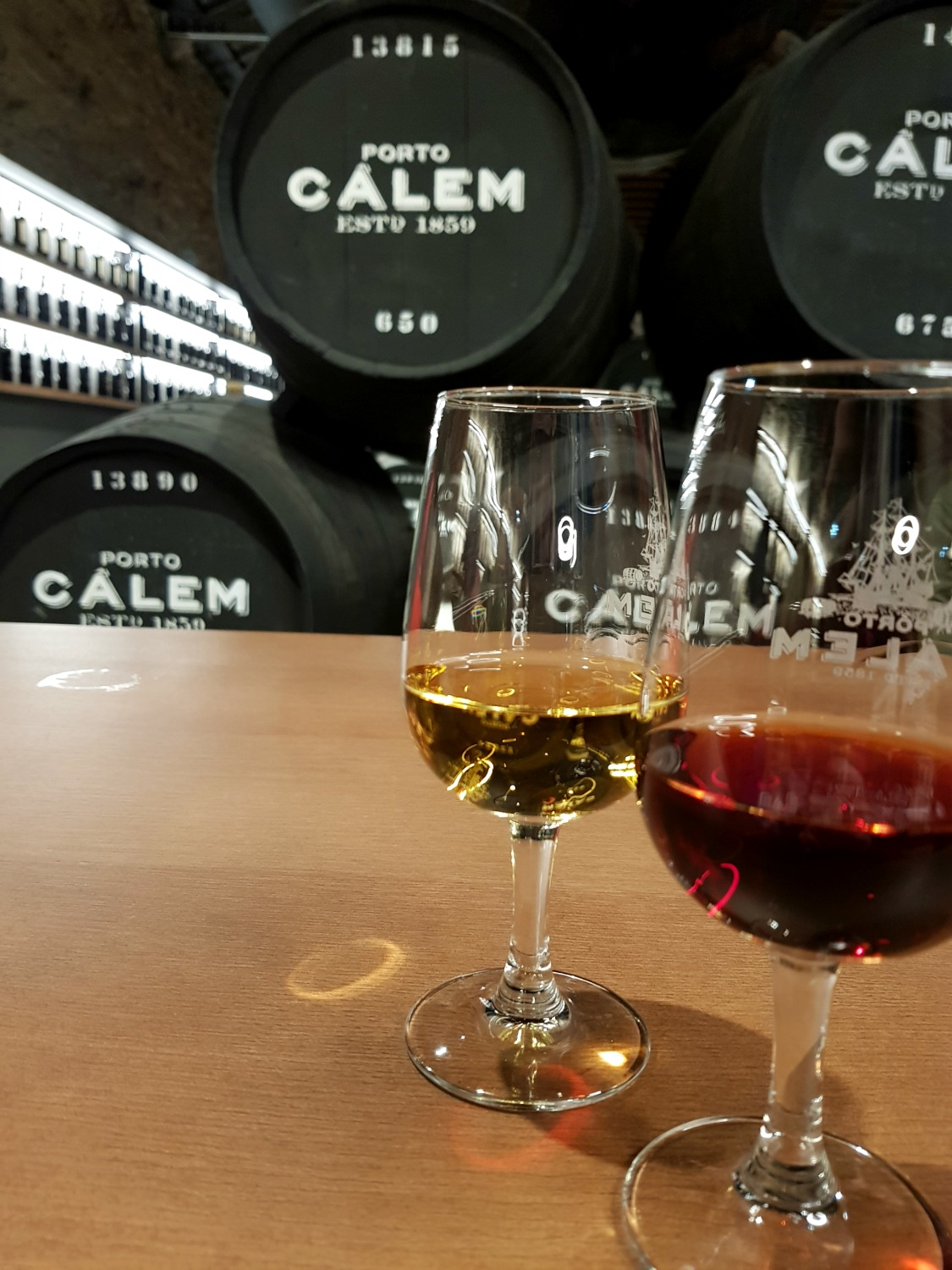 Port tasting at Caves Calem in Porto - my top 37 things to do in Porto with kids, discovering the family-friendly side to this lovely city in north Portugal