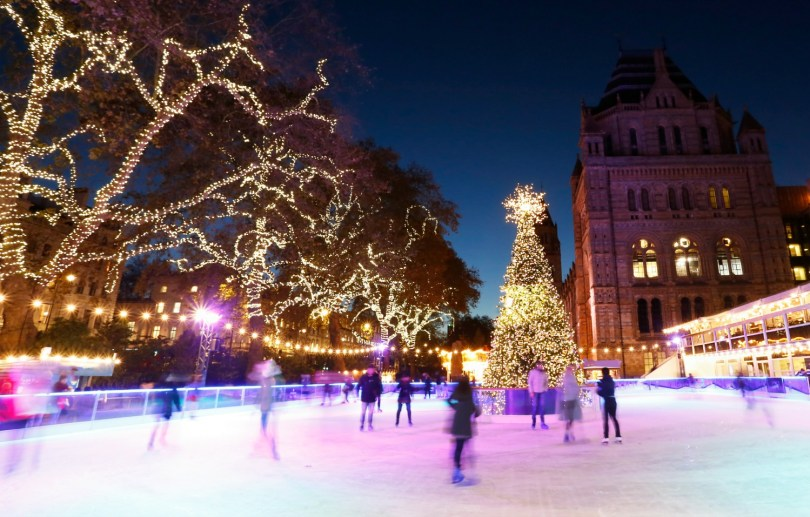 Christmas Ice Skating London.Best Places To Ice Skate In London With Kids Mummytravels