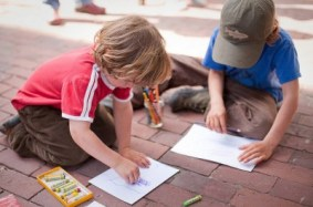 Drawing Exchange at the Big Draw, RISD Museum