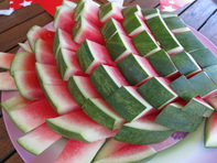 MW food blog watermelon