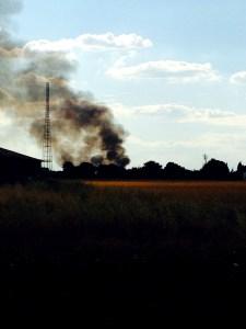 turning to the skies, mumof2, fire, smoke