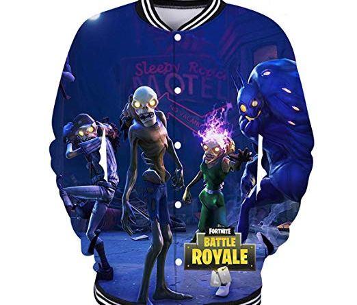Unisex Fortnite 3D Print Pullover Hoodie Game Battle Royale Sweatshirt Hip Hop Streetwear Hooded Tops
