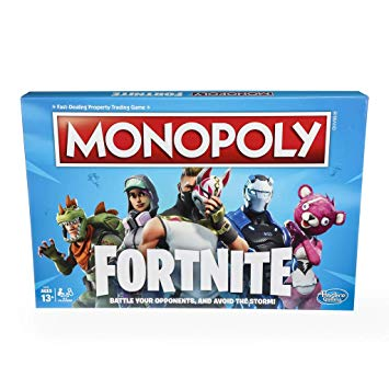 Hasbro Monopoly Fortnite Edition Board Game