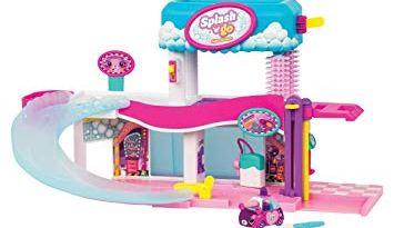 Shopkins Cutie Cars Splash 'n' Go Spa Wash Playset