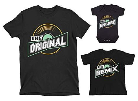 Buzz Shirts Family Matching T-Shirt Set - Original Remix Encore