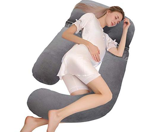 Full Body Maternity Pillow 59 Inch & U Shaped Pregnancy Pillow