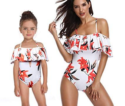 Matching Mummy and Daughter Swimwear