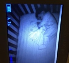 Ghost Baby In Bed With My Son