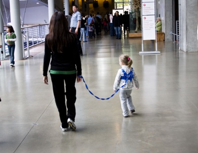 YES I Use A Backpack Leash With My Daughter