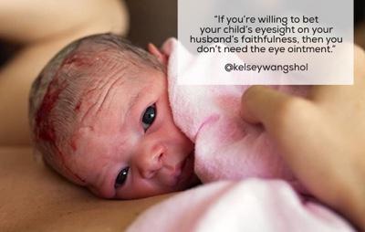 Will You Bet Your Child's Eyesight On Your Husbands Faithfulness