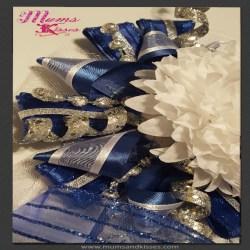 simple homecoming garter