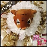 Homecoming Garter Mascot