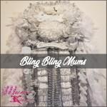 triple homecoming mum