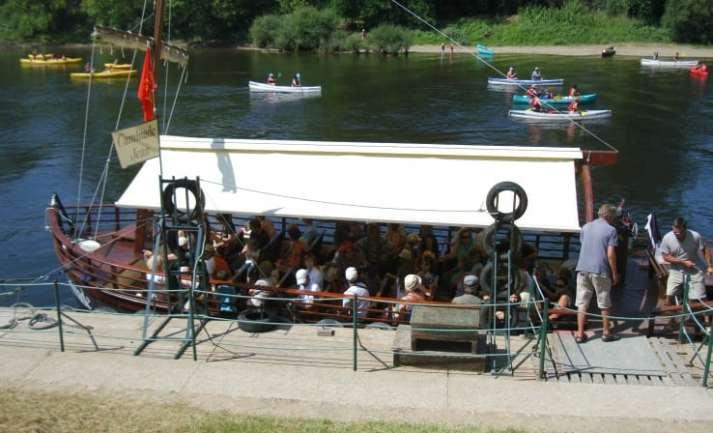 Gabarre riverboat