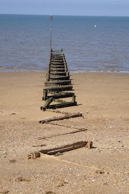 Heacham beach, Norfolk