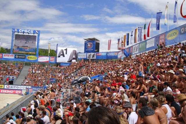 Klagenfurt, European Beach Volleyball 2013