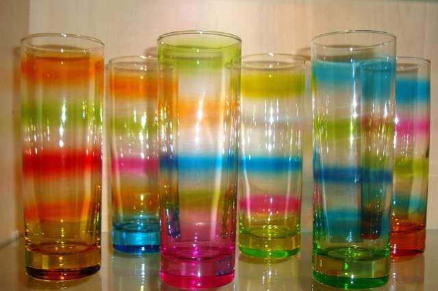 Rainbow glass by Leonardo
