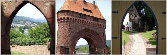 Miltenberg bridge gate