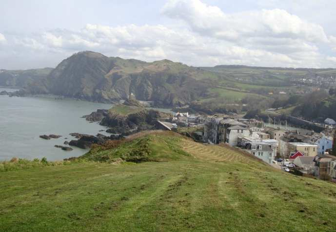 Ilfracombe town from Capstone Hill