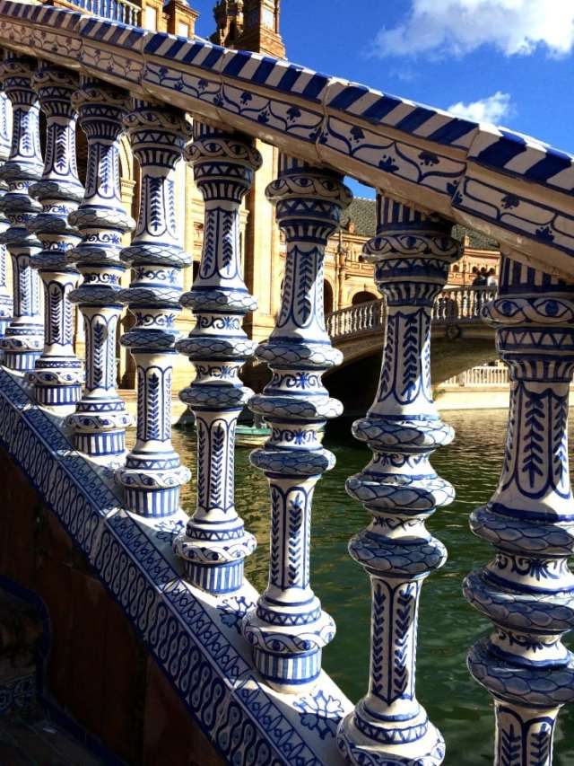 Bridge plaza de Espana seville