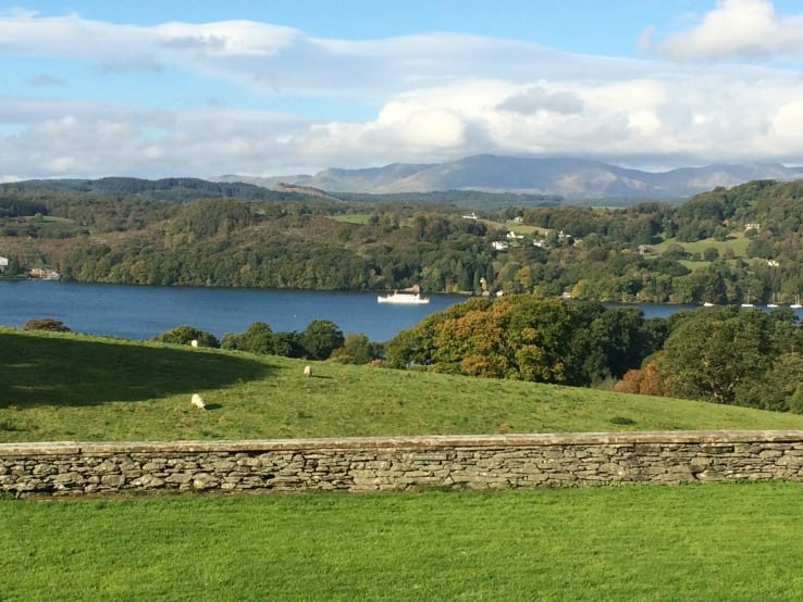Lake Windermere view from Blackwell House
