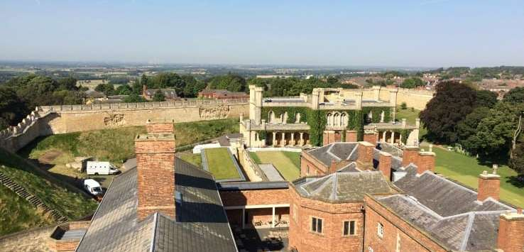 Views from Lincoln Castle