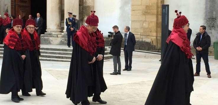 Coimbra degree ceremony