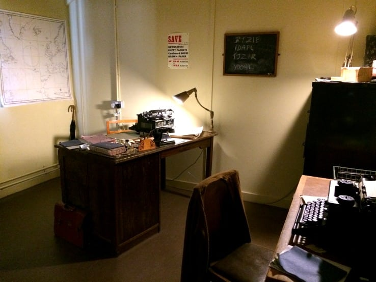 Bletchley Park Turing's office