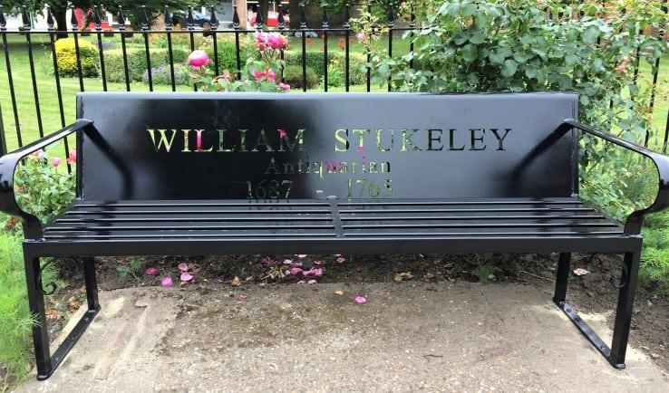 William Stukeley bench, Holbeach