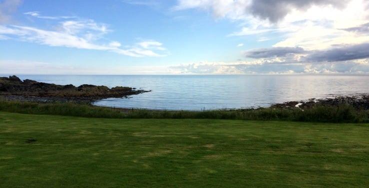View from Shingle Lodge, Knockinaam
