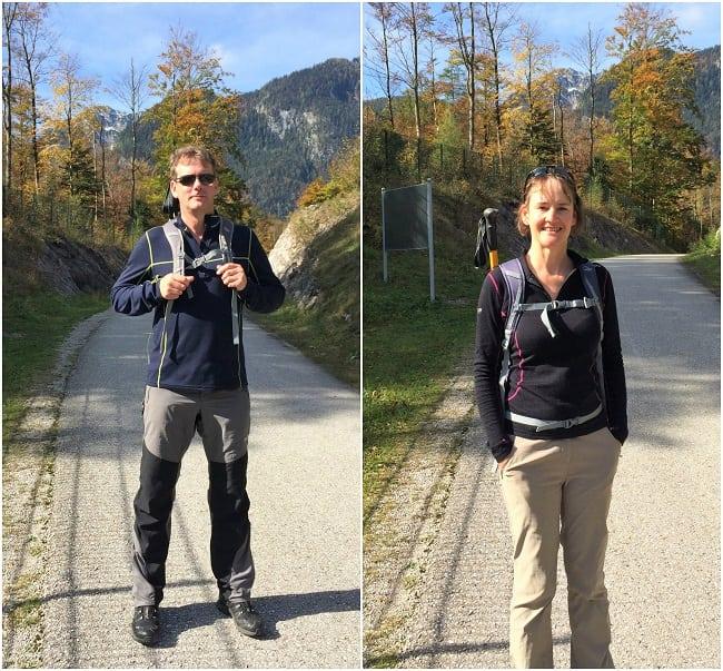Walking near Obertraun