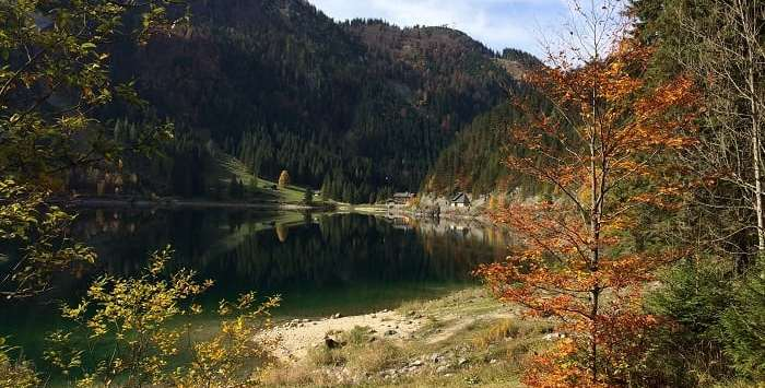 Gosau lower lake Austria