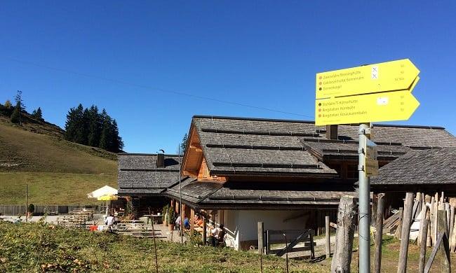 Rottenhofhutte in Gosau Zweiselalm
