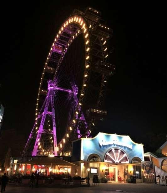 GIant Ferris Wheel in Prater Park, Vienna