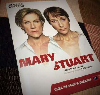 Programme for Mary Stuart play