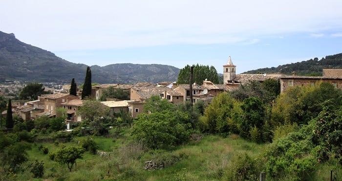 hamlet of Biniaraix, Mallorca