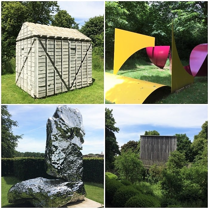 Houghton Hall permanent sculptures