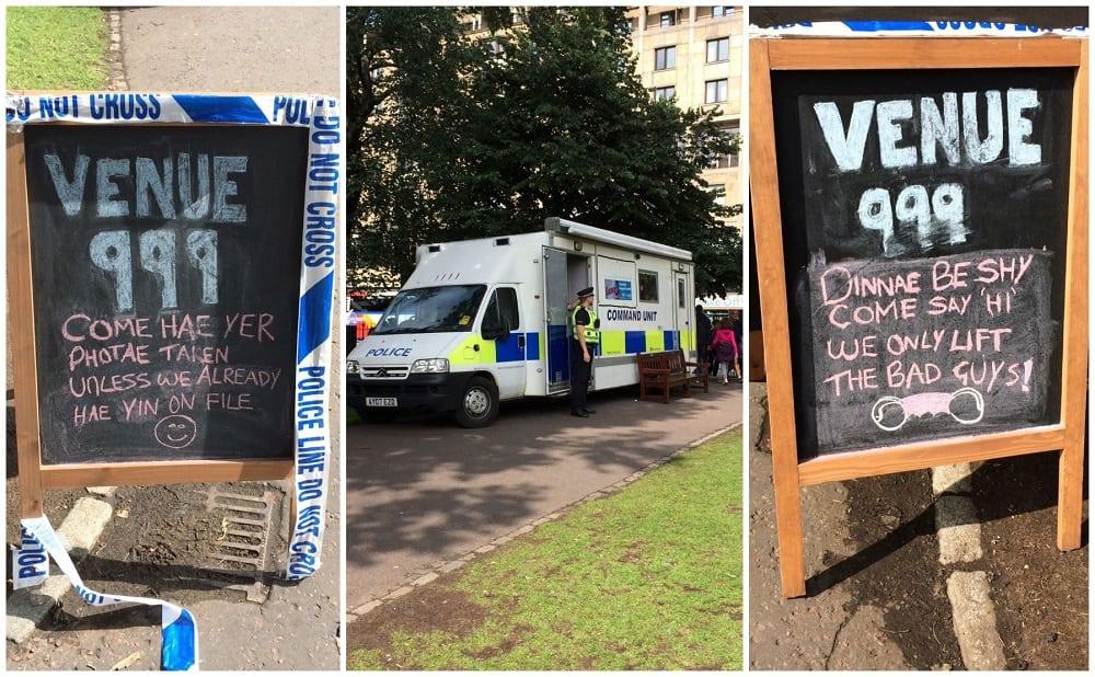 EDinburgh-fringe-venue-police-999