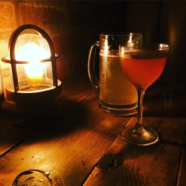 Drinks at the Devils Advocate Edinburgh