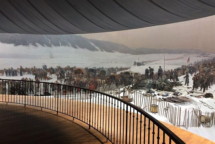 Bourbaki panorama, Lucerne, Switzerland