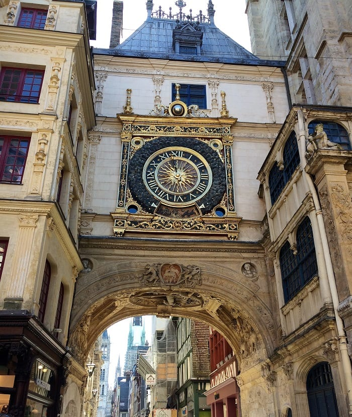 Great clock, Rouen