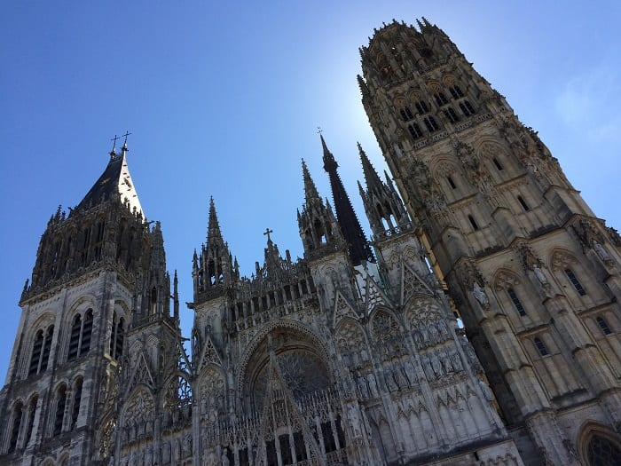 Exterior Rouen Cathedral