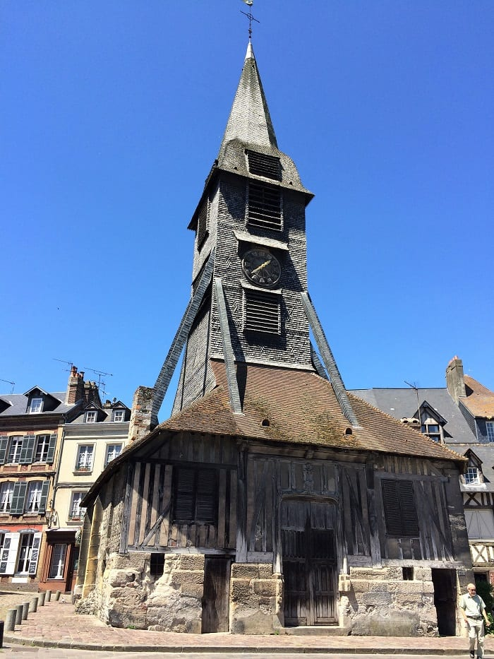 Bell tower of St Catherine church, Honfleur