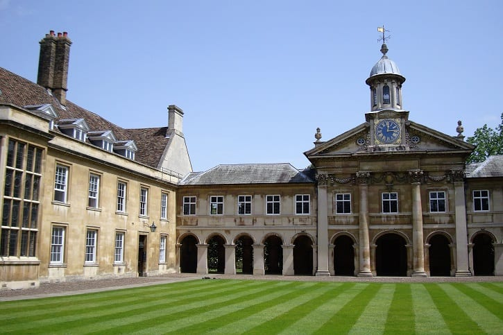 Emmanuel College and Wren Chapel