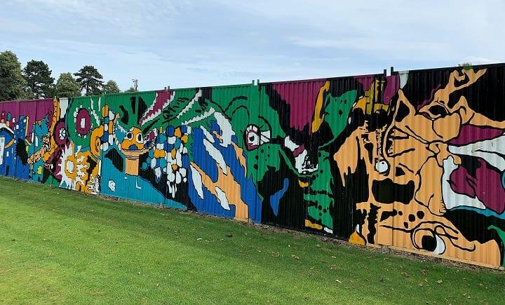 Mural, Carter's Park, Holbeach