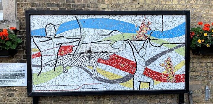Olympic mosaic, Holbeach