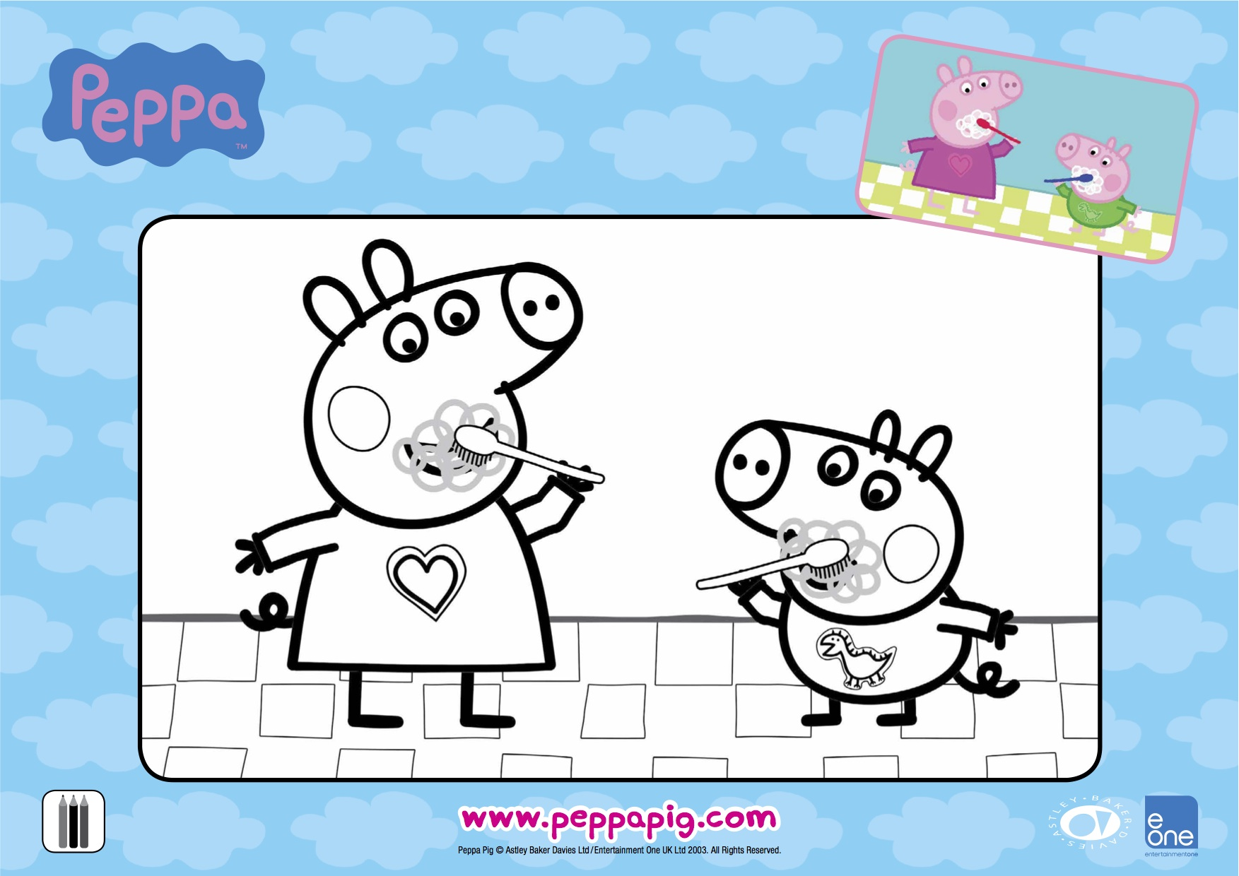 Rainy Day Activities Download These Free Peppa Pig